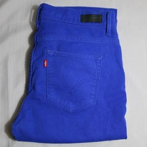 Women's Electric Blue Levi's style 632